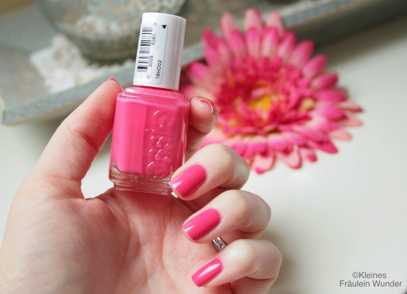 kleines fr ulein wunder beauty in pink essie 39 status symbol 39. Black Bedroom Furniture Sets. Home Design Ideas