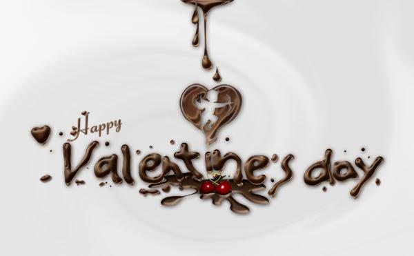 Cara Membuat Ucapan Valentine Dengan Cokelat untuk pacar Anda.