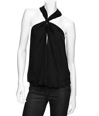 EXCLUSIVE Evelyn Zipper Halter Top