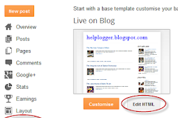 How To Add Social Media Icons to Blogger Header