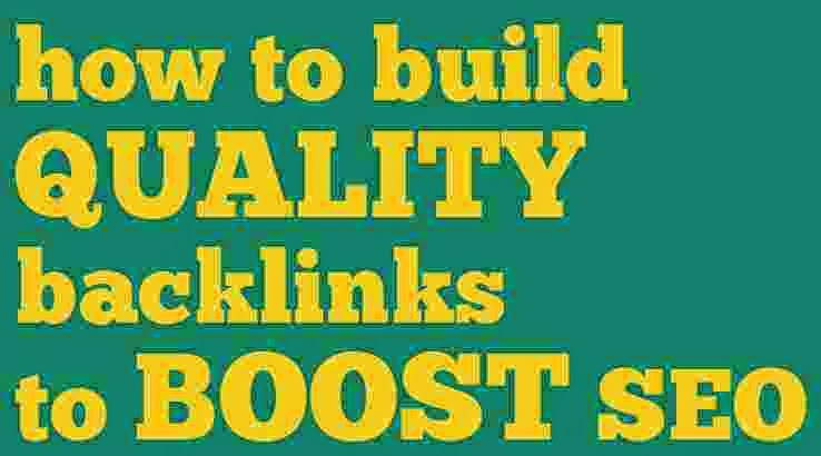 How to get backlinks to boost seo