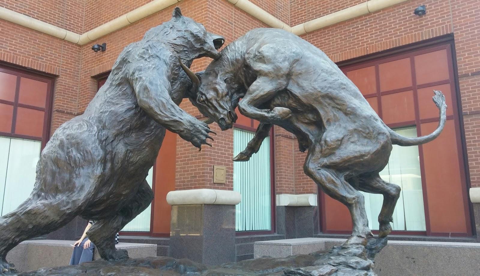 100 Bull And Bear Statue Amazon Com Classic
