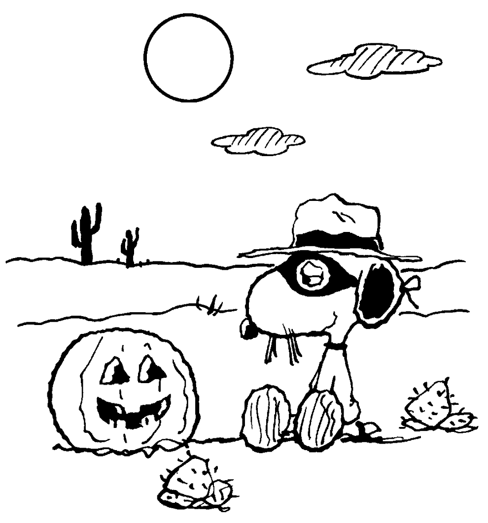 snoopy coloring pages free coloring pages printables for kids