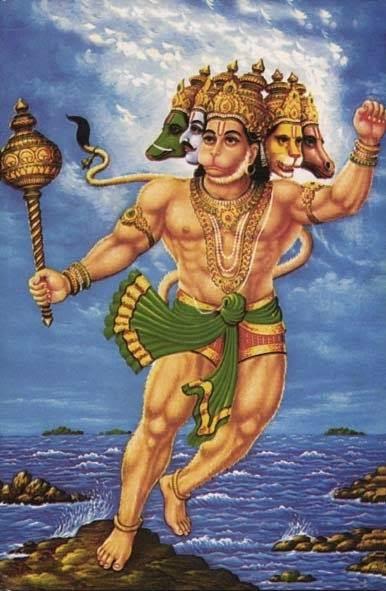 The world of bhajan and gurbani shri panchmukhi hanuman - Panchmukhi hanuman image ...