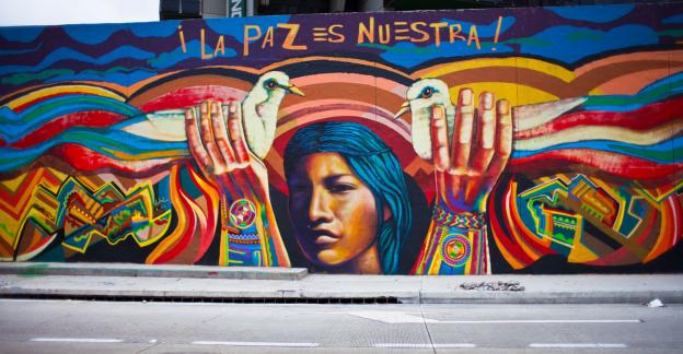 GRAFFITI Y PAZ