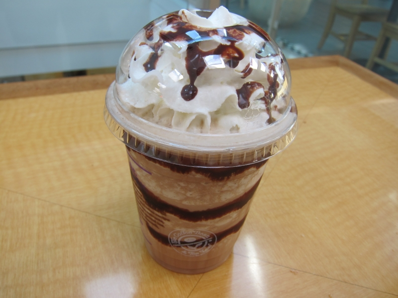 The Coffee Bean's Chocolate Hazelnut Ice Blended features coffee ...