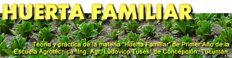 HUERTA FAMILIAR