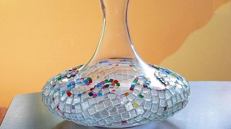 Как украсить вазы своими руками фото