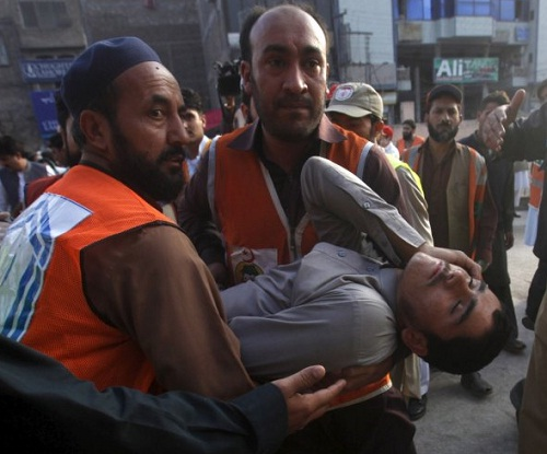 Afghanistan and Pakistan earthquake