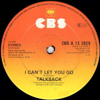 Talkback  - I Can\'t Let You Go  1982 12 Inch