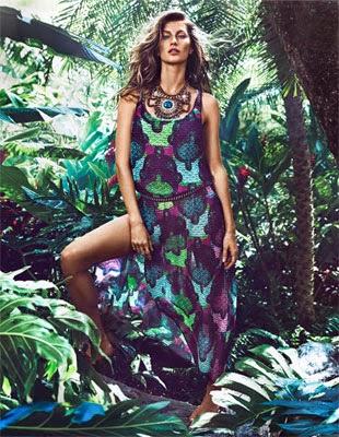 H&M coleção verão 2014 vestido longo