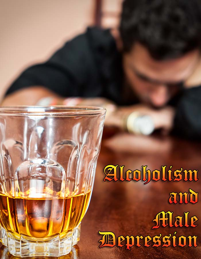 Alcoholism and Male Depression