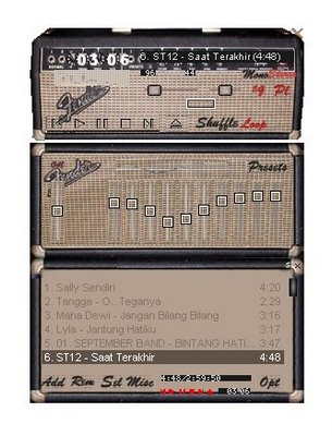 Download Skin Winamp Speaker Fender