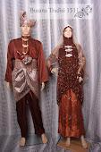 Baju Perkahwinan Coklat Sedondon