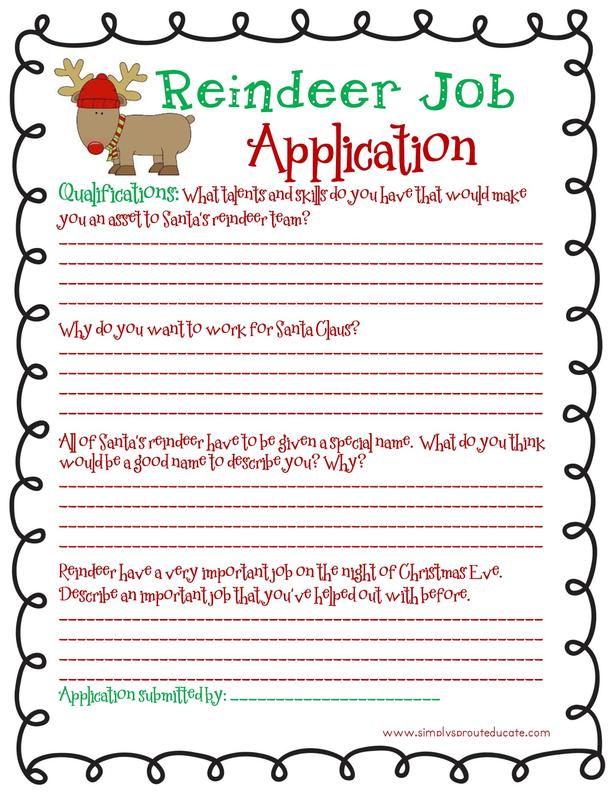 Month of Joy: Reindeer Wanted - Simply Sprout on kfc printable job application form, forever 21 application united states, roses application print out form, dunkin' donuts printable application form, forever 21 application form usa, forever 21 job application usa, denny's printable job application form, printable basic job application form, forever 21 paper application form, chick fil printable job application form, sonic printable job application form, forever 21 app, gnc printable job application form, starbucks printable job application form, forever 21 employment application, printable blank job application form, nike application form, forever 21 print application pdf,