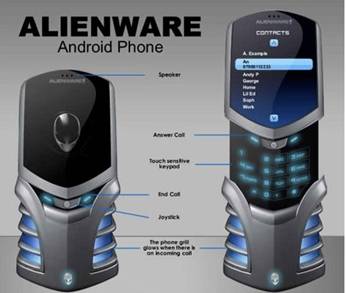 android phone concept