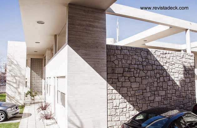 Residencia de diseño moderno años 30 estilo Racionalista en la ciudad de Bahía Blanca, Buenos Aires, Argentina