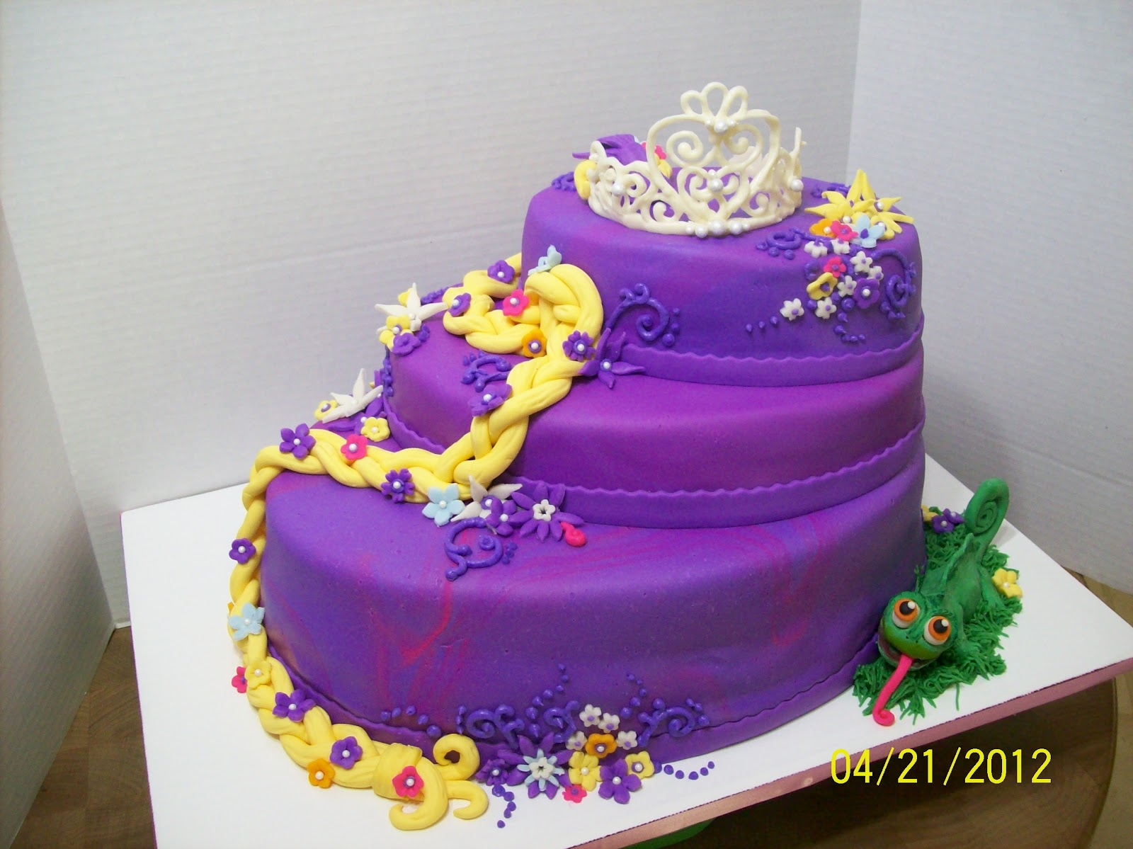 Cakes By Chris Tangled Repunzel Cake