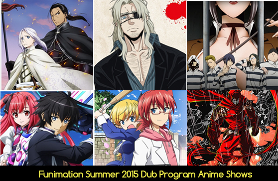 Funimation Summer 2015 Dub Anime Shows