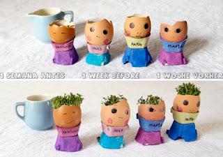 Cara Membuat Boneka horta dari cangkang Kulit Telur