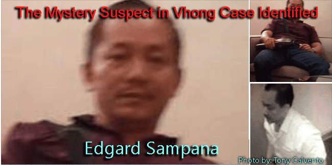 Edgard Sampana the Mystery Suspect in Vhong Case Identified