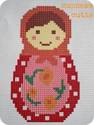 Free Babushka cross stitch pattern