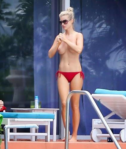 Joanna Krupa Shows Off Her Nude Boobs indianudesi.com