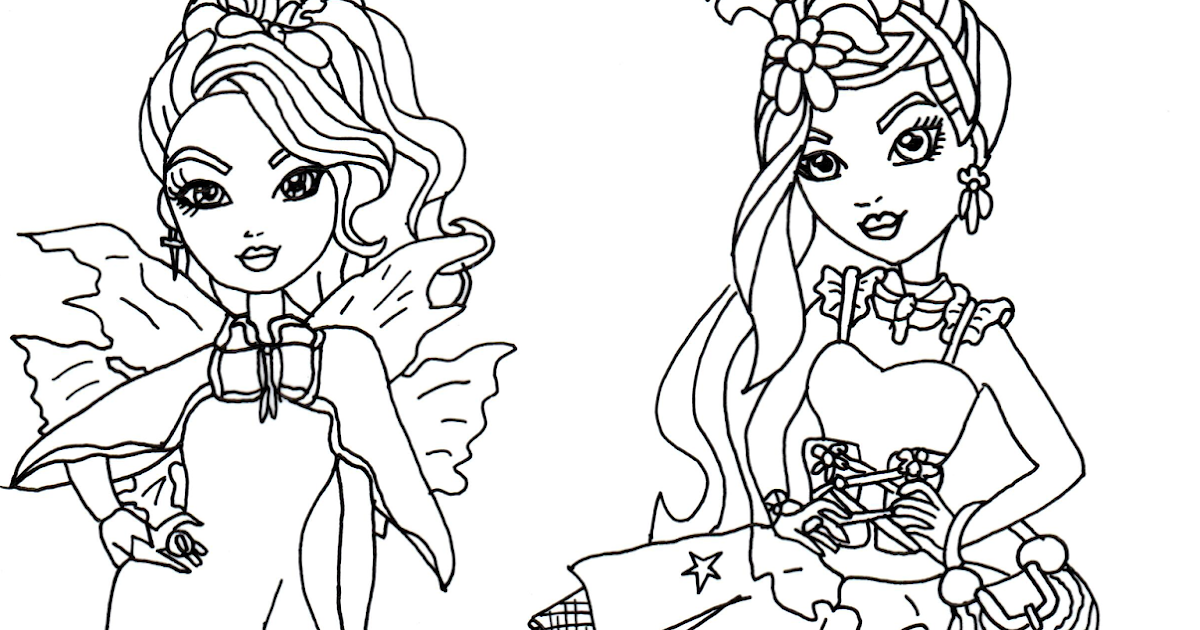 ever after high coloring pages apple white - free printable ever after high coloring pages faybelle