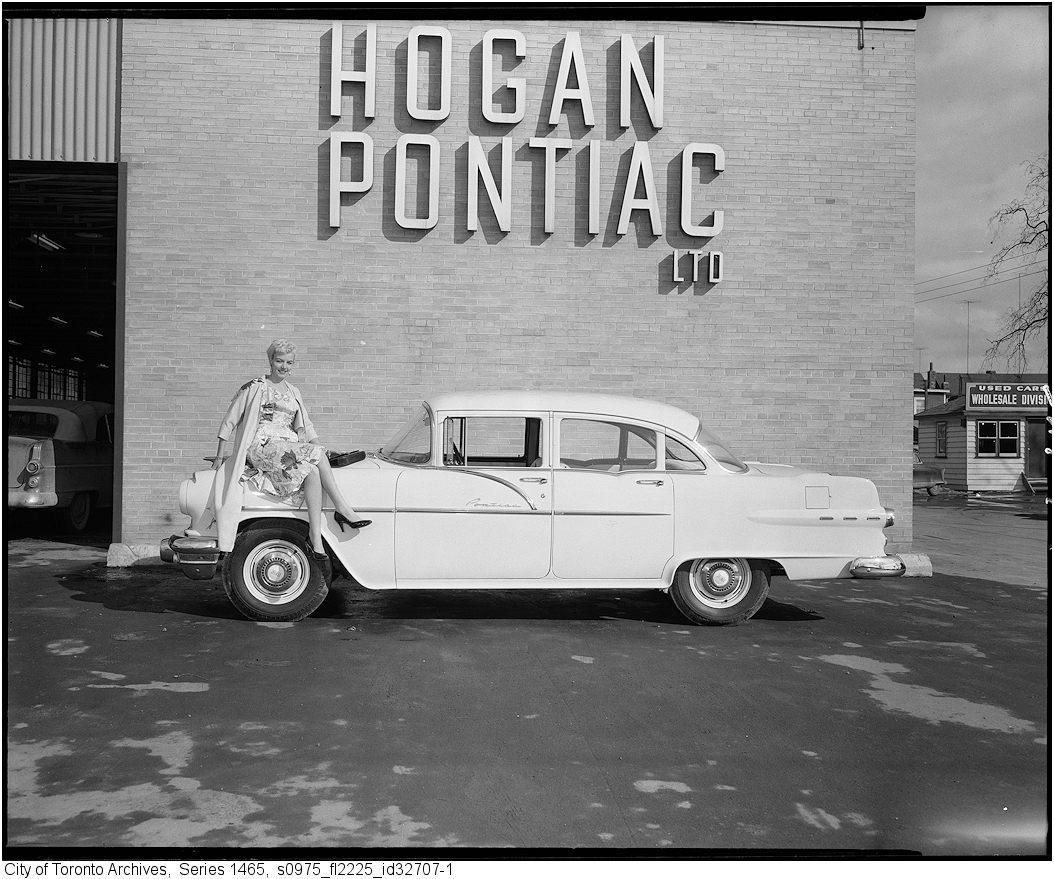Vintage Pontiac Dealership: Lost Toronto: Vintage Car Dealerships/Gas Stations/Car Shows
