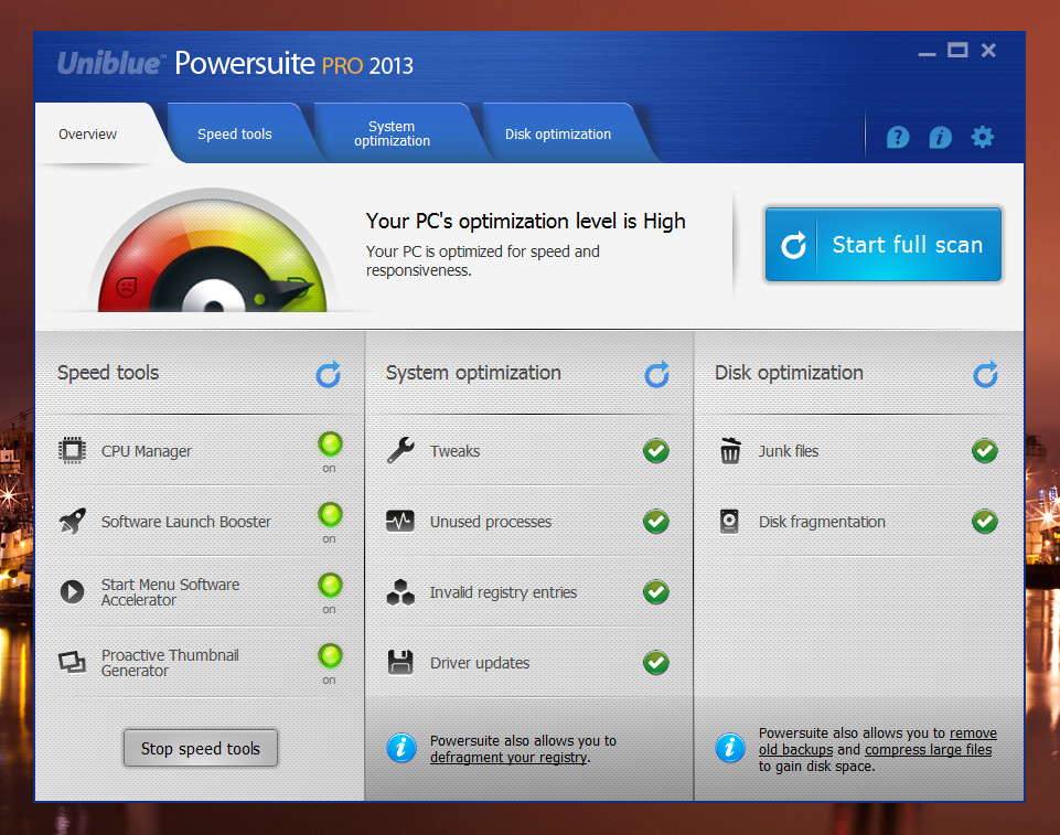 Powersuite2013.1 Powersuite 2013: Mantén tu ordenador limpio