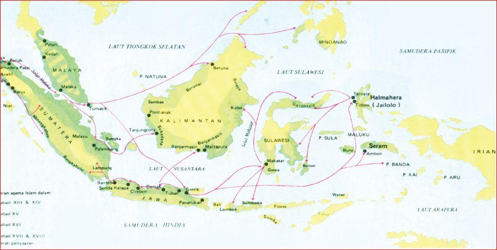 Proses Awal Kedatangan Islam ke Indonesia