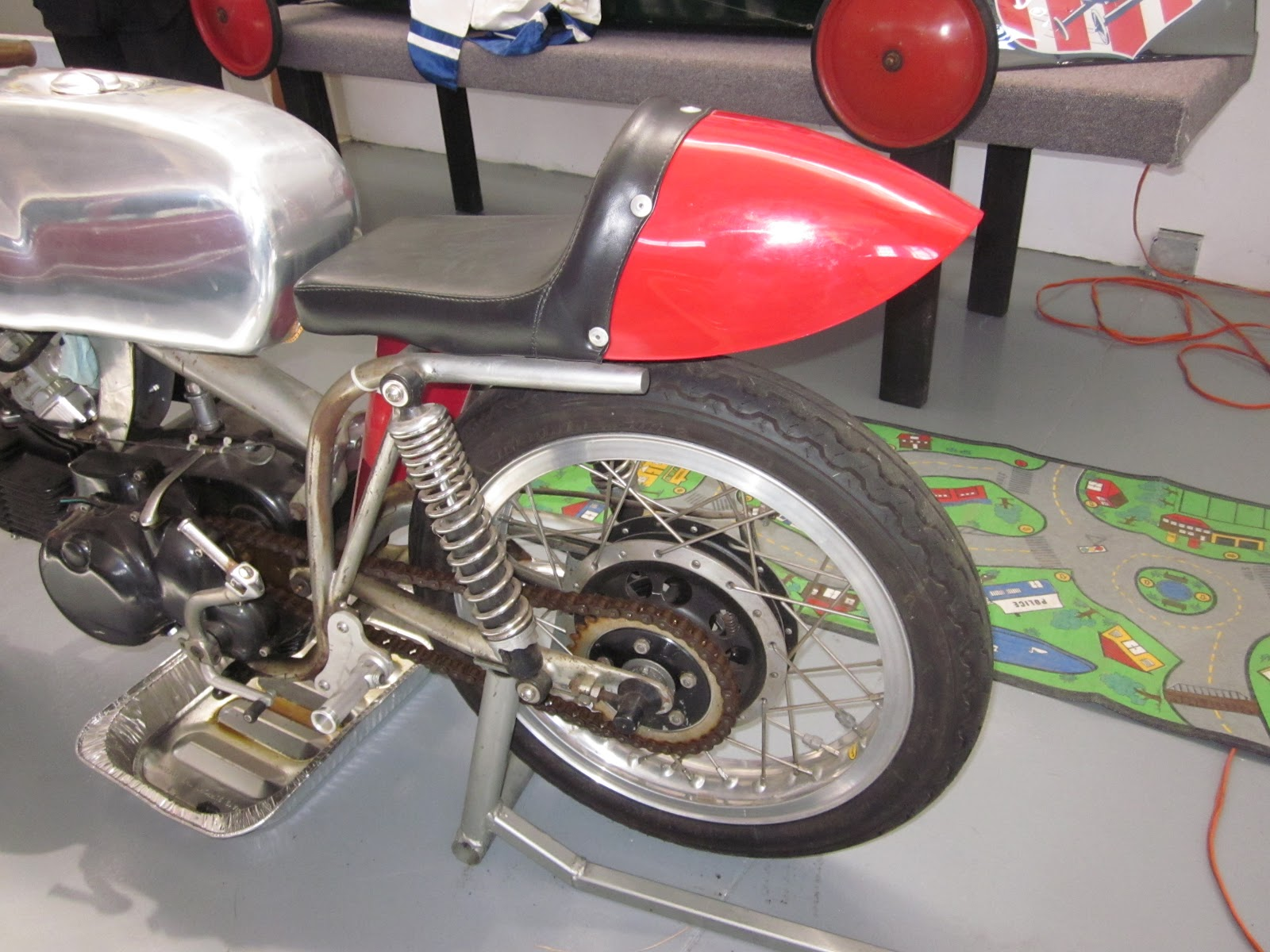 OldMotoDude  Aermacchi Harley Davidson Sprint Road Racer at the