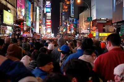 Times Square Revelers