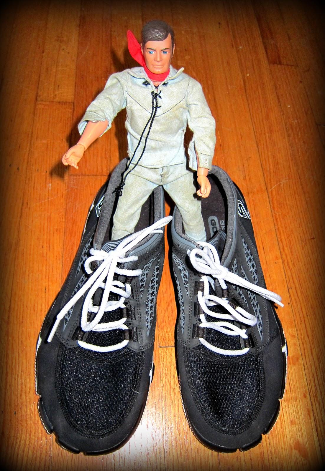 Six Million Dollar Man Running Shoes