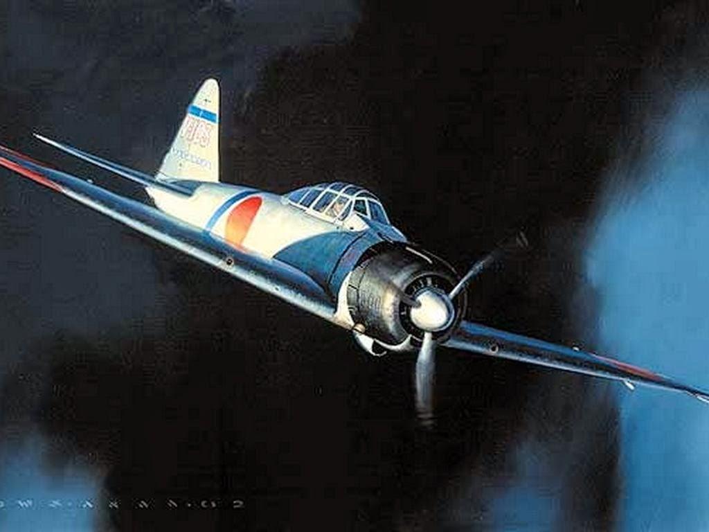 ilustraciones aviones de guerra