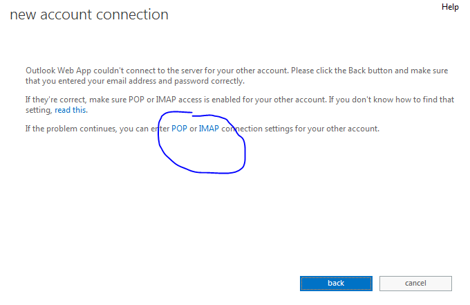 how to change connected accounts exchange