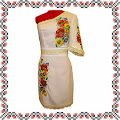 Сукня вишивана з квітами