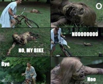 Nooo, my bike