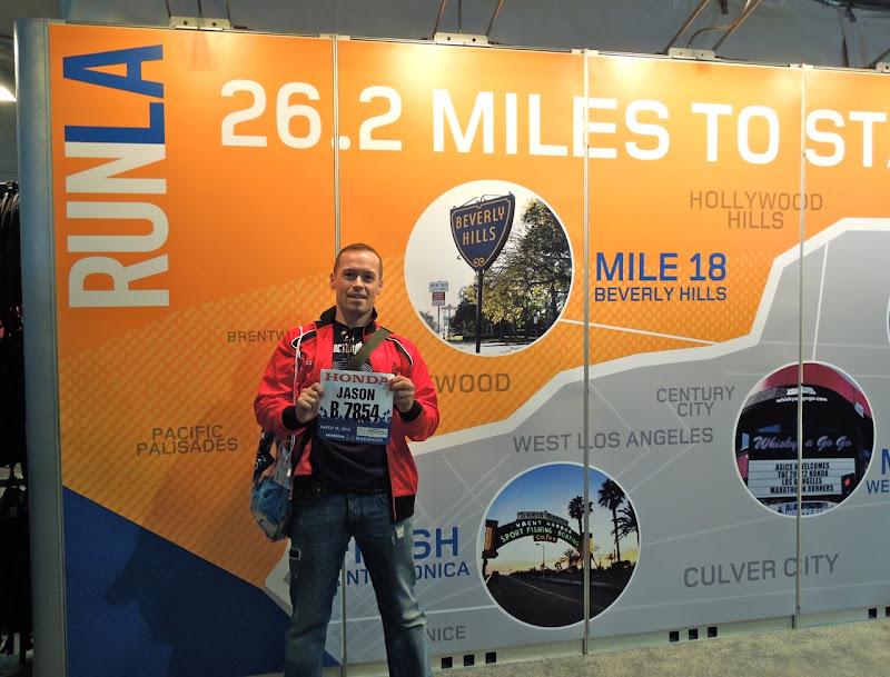Jason LA Marathon EXpo 2012