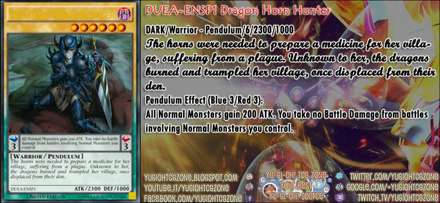 DUEA-ENSP1 Dragon Horn Hunter