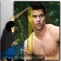 What is Taylor Lautner's height?