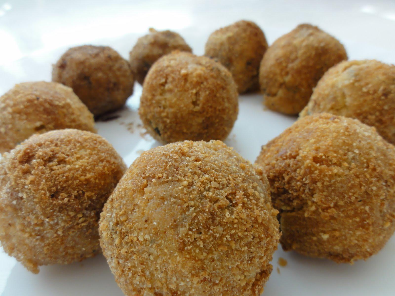 Rathai's Recipes: Falafel (chickpea cutlets)