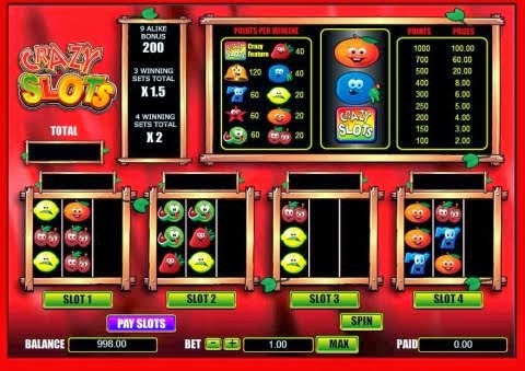 online casino review crazyslots