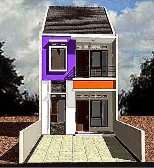 gambar desain rumah minimalis lantai 2  Inspirasi Rumah Idaman