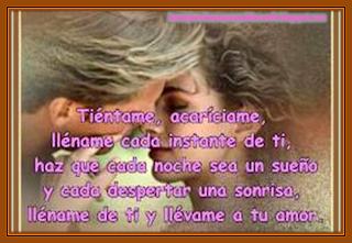Frases De Amor: Tiéntame Acaríciame Lléname Cada Instante De Ti