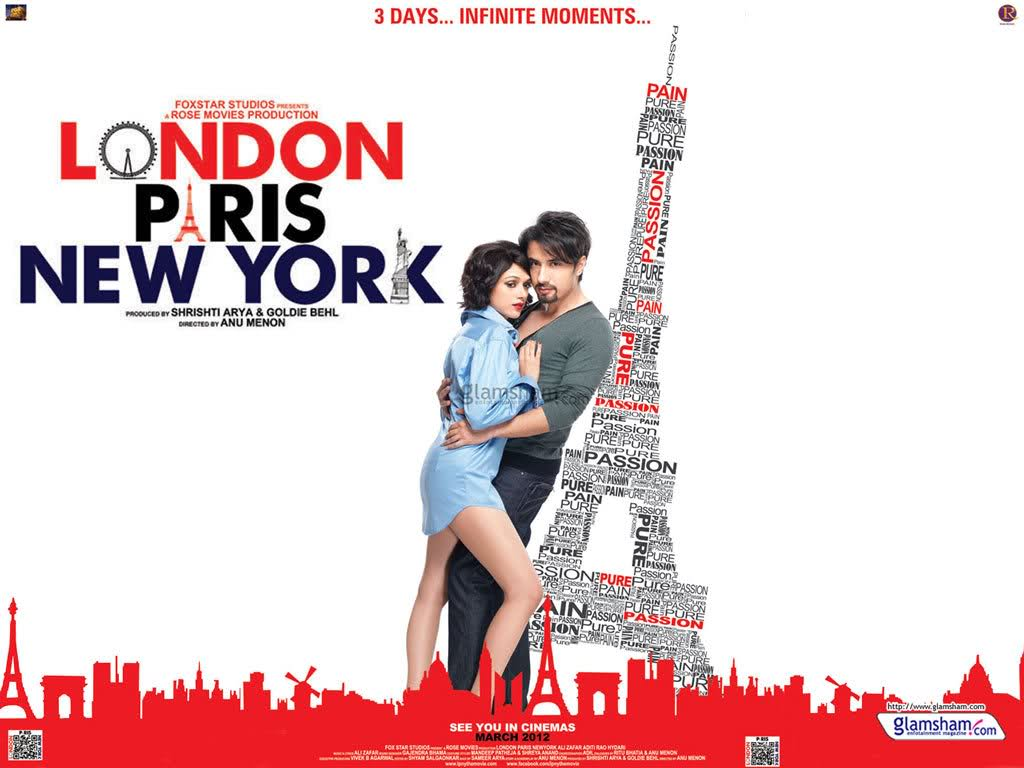 London Paris New York (2012) – Hindi Movie DVDSCR