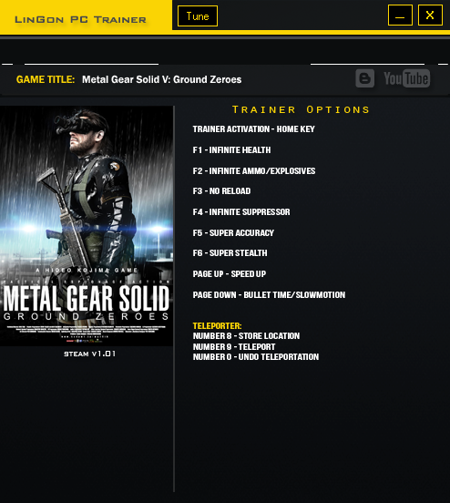Metal Gear Solid V Ground Zeroes trainergames