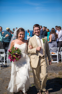 Married at Golden Gardens- Patricia Stimac, Seattle Wedding Officiant