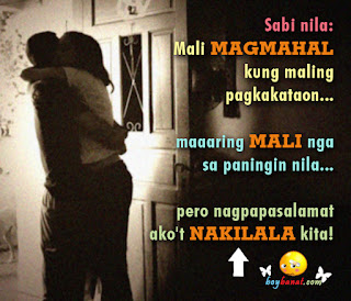 Tagalog Love Quotes for Him and Pinoy Love Quotes for Boyfriend - Boy