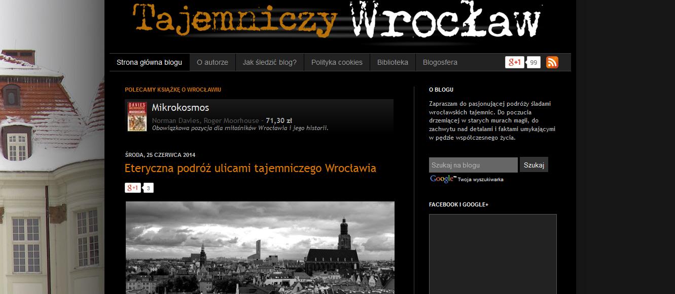 Blog Tajemniczy Wrocław